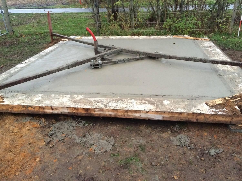 betonstøbning