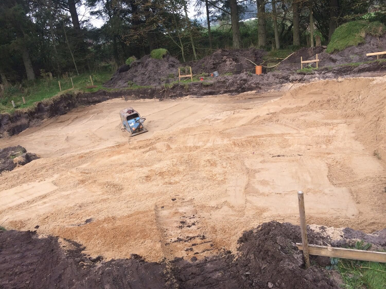 Jordarbejde og gravearbejde