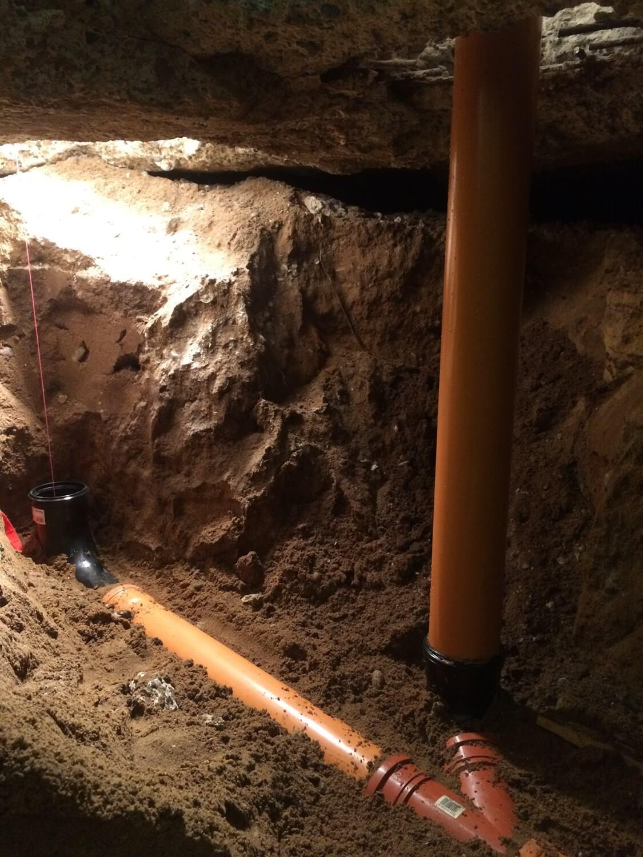 kloak under jorden