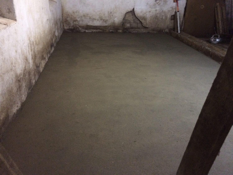støbning af gulv